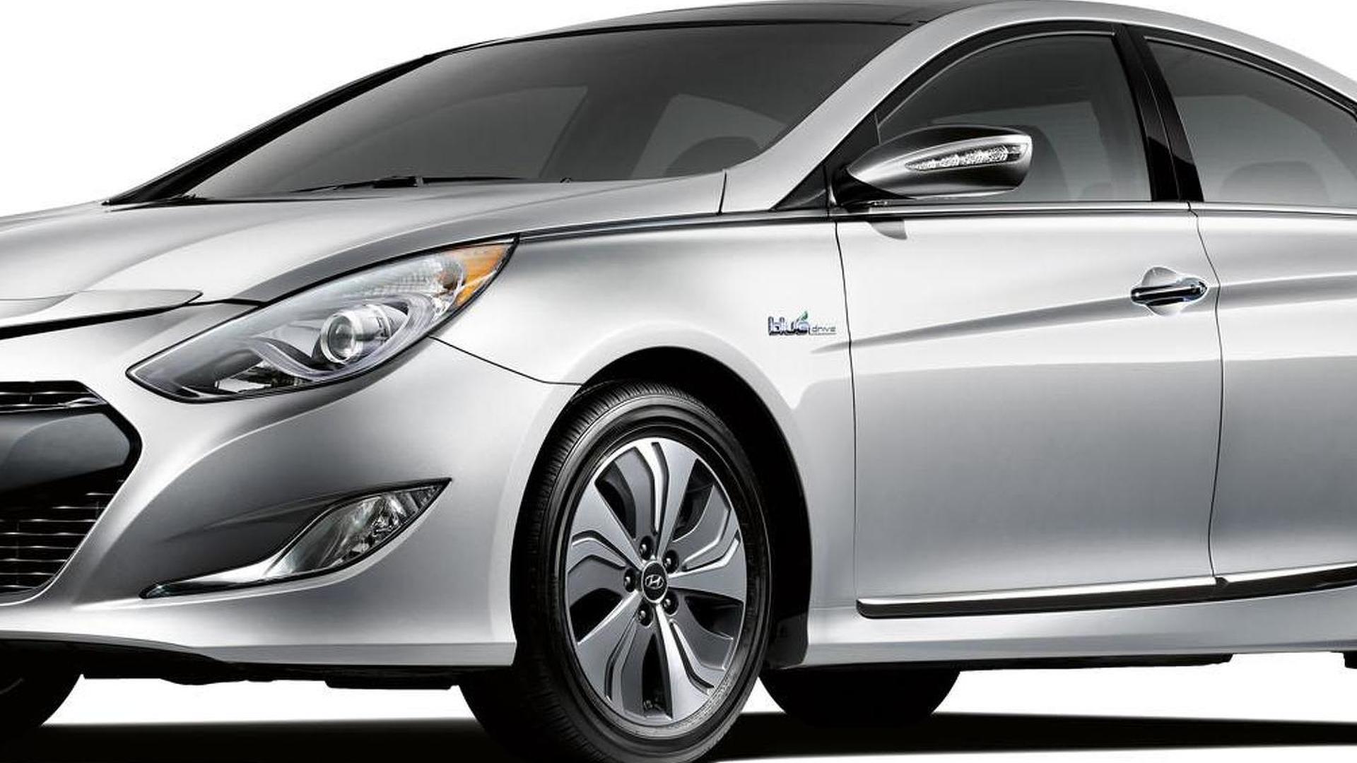 2013 Hyundai Sonata Hybrid unveiled with upgraded powertrain