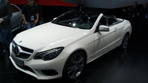 2014 Mercedes-Benz E-Class Cabriolet live in Detroit 14.01.2013