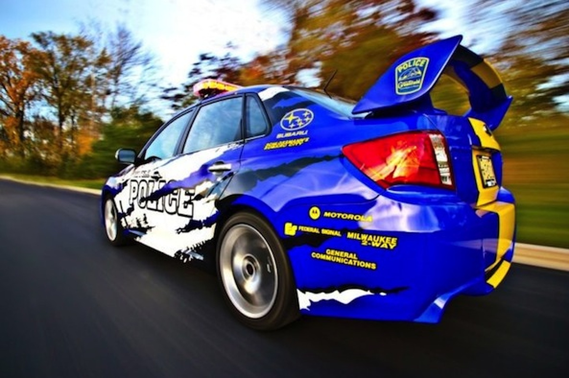 Wisconsin Police Enlist Subaru WRX STI For Duty