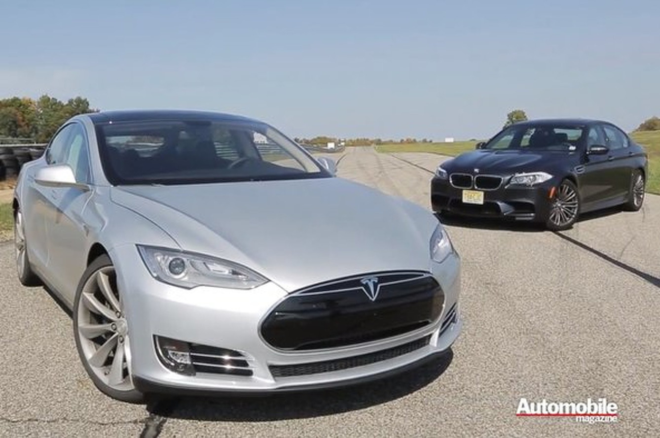 Tesla Model S Outguns BMW M5, Jaws Become Dropped