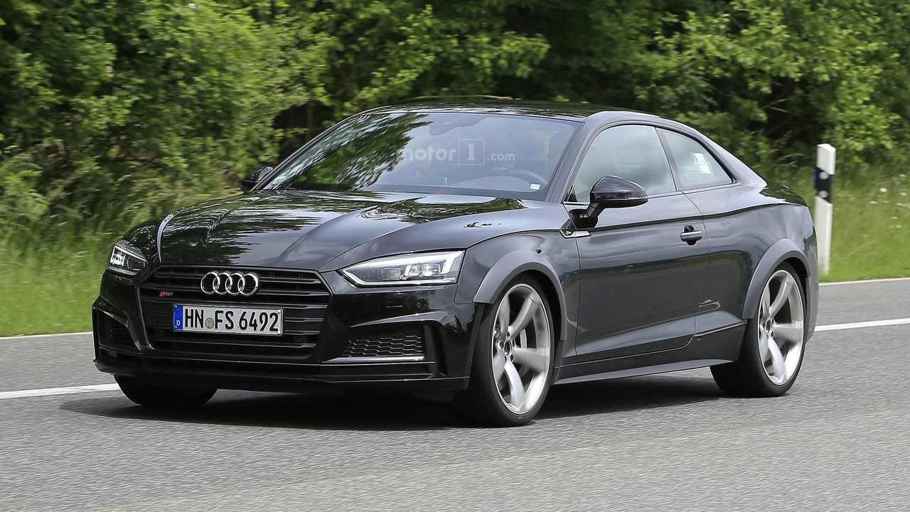 2018 Audi Rs5 Coupe Spy Photos Photo Gallery Motor1 Com