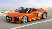 2017 Audi R8 Spyder speculative render sees into the future