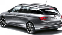 Fiat Aegea wagon speculatively rendered