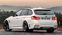 BMW M3 Touring rendering previews what we might get