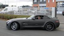 2013 Mercedes SLS AMG Black Series spy photo - 19.10.2011