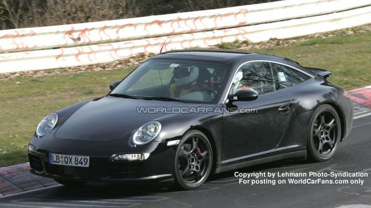 SPY PHOTOS: Porsche 997 Targa Facelift
