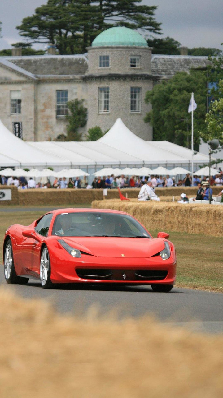 Ferrari 458 Italia, Goodwood Festical of Speed 2010, 05.07.2010