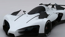 Green GT Le Mans design study gets cool animation [video]