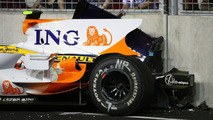 FIA charges Renault with causing Piquet crash