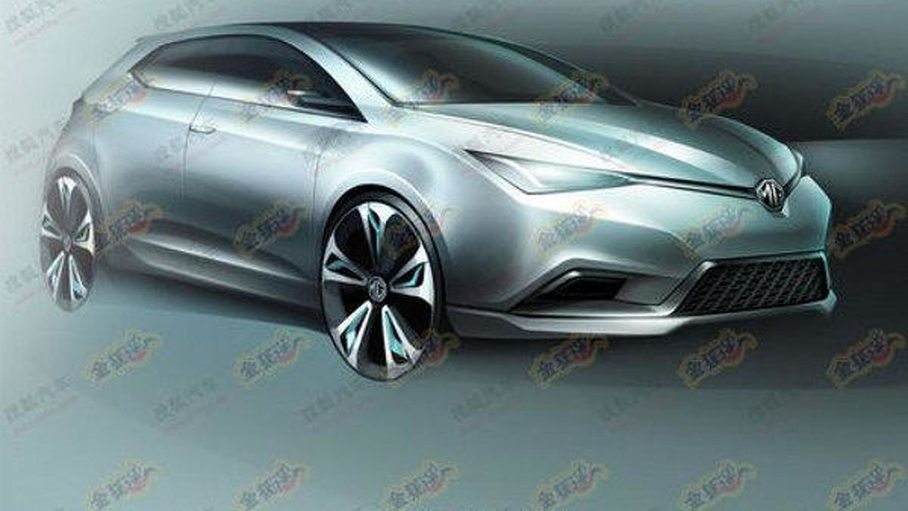 MG5 Concept for Auto Shanghai, 600, 07.04.2011