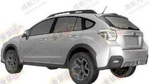 2012 Subaru Impreza XV patent photo - 27.7.2011