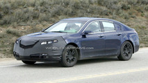 Acura TL Spied with Little Camo