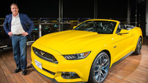 Ford assembles Mustang GT Convertible on top of the world's tallest building [video]
