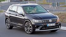 Photos espion - Le Volkswagen Tiguan R ne se cache même plus !