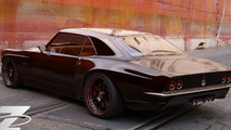 Bo Zolland creating a customized 1968 Chevrolet Camaro for SEMA
