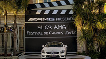 Mercedes AMG fleet for the Cannes Film Festival 22.5.2012