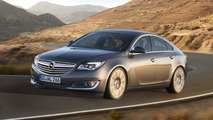 2013 Opel/Vauxhall Insignia facelift officially revealed