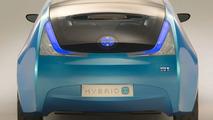 Toyota Hybrid X Concept Unveiled