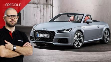 Audi TT, a 20 anni si regala un restyling tecnologico