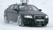 SPIED: 2009 Audi A6 with facelift