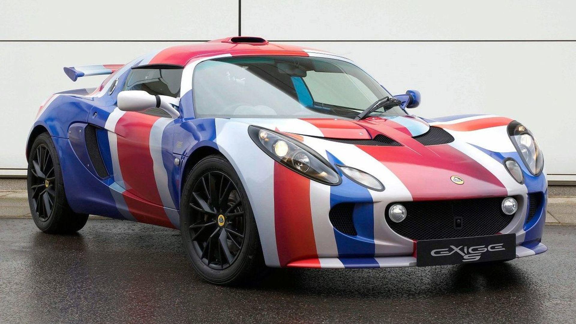 'Union Jack' Lotus Exige S