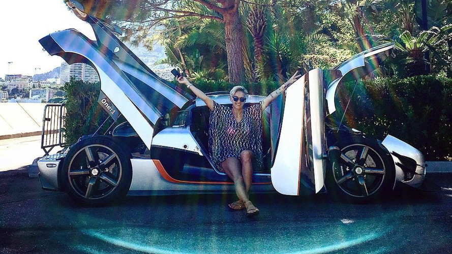 Lady racer buys first ever Koenigsegg One:1