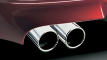 BMW M6 exhaust pipes