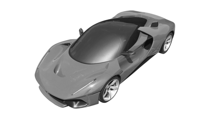 Mysterious LaFerrari hits the patent office
