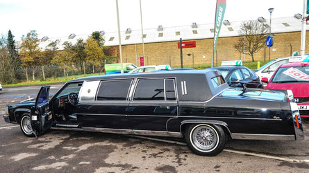 President Trump's Cadillac limousine for sale in U.K.
