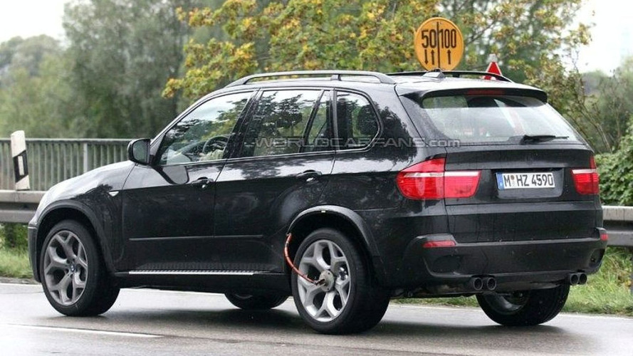BMW X5 M Spotted Again