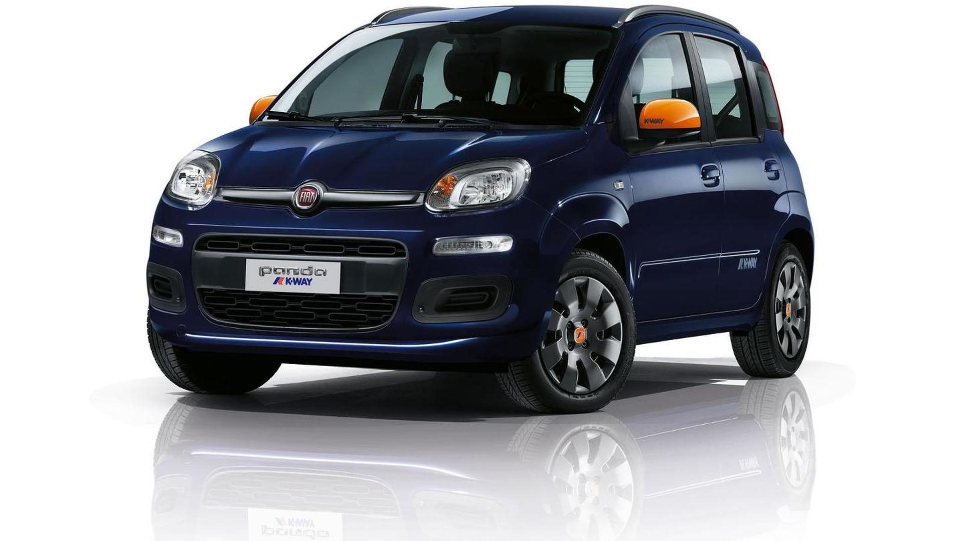Fiat Panda K-Way revealed
