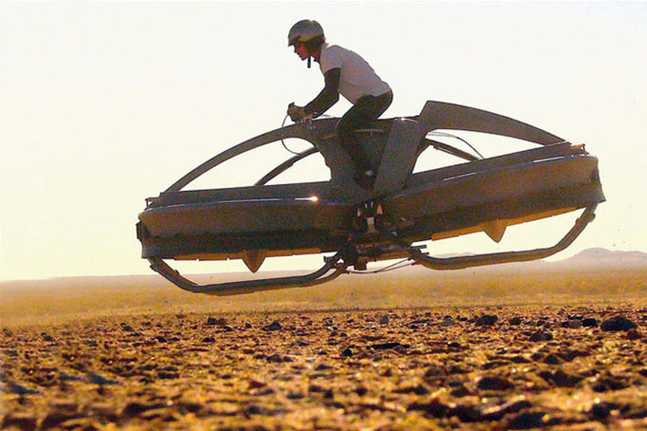 The Aero-X Hovercraft Will Land in 2017