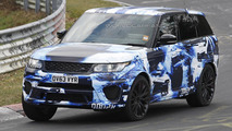 Ranger Rover Sport RS spy photo