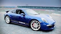 2013 Porsche 911 Carrera 4S built to celebrate 5M fans on Facebook 26.11.2013