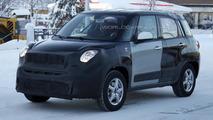 Jeep Jeepster / Fiat 500X mule spied in Scandinavia