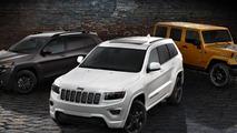 Jeep Cherokee, Grand Cherokee & Wrangler Altitude editions revealed