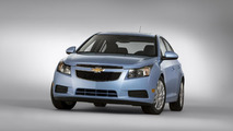 2012 Chevrolet Cruze facelift front fascia spied