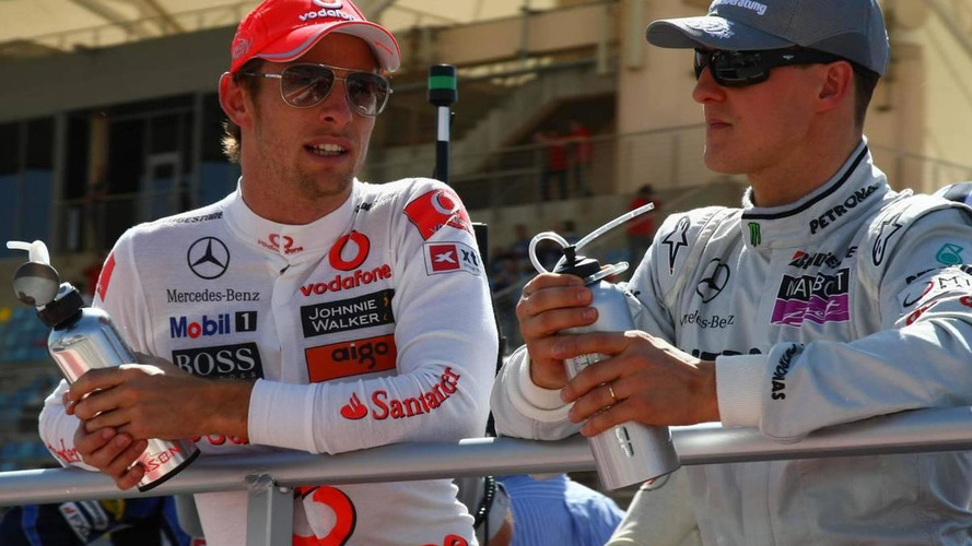 Schumacher's car designed for me - Button