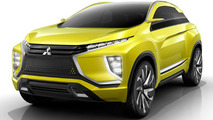 Mitsubishi eX compact crossover concept heading to Tokyo Motor Show with next-gen EV hardware