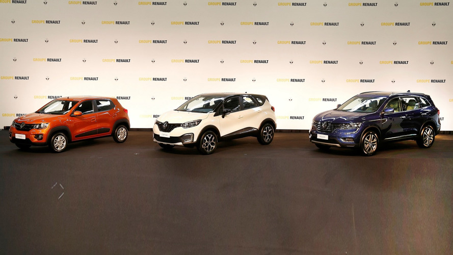 Renault announces Kwid, Captur and Koleos SUVs for Brazil