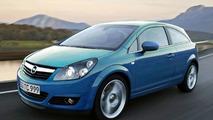 New Opel Corsa OPC artist rendering