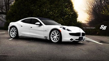 SR Auto first to fit aftermarket wheels to Fisker Karma