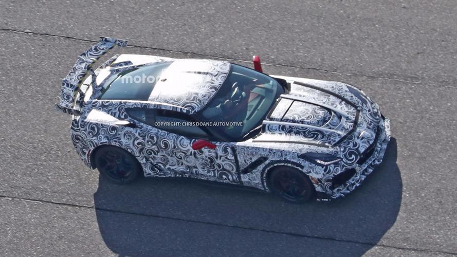 2018 Chevy Corvette ZR1 spy photos