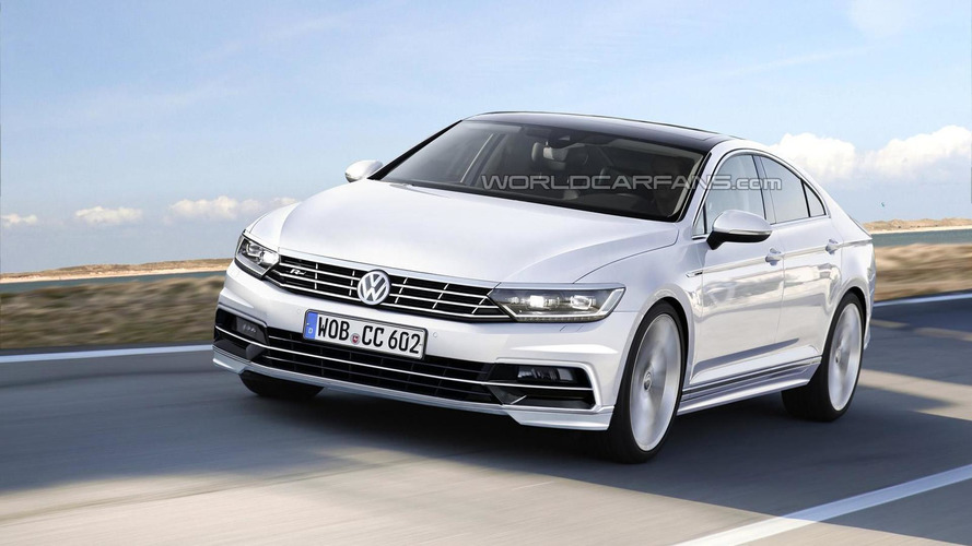 2017 Volkswagen CC rendered