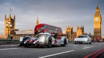Porsche 919 and Panamera E-Hybrid hit the streets of London