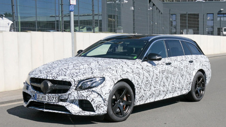 2018 Mercedes-AMG E63 Estate spy photos