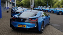 Leicester City players gifted BMW i8s