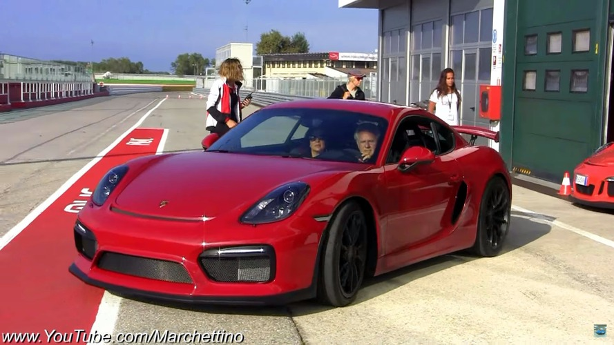 Watch Horacio Pagani hoon his Porsche collection on track
