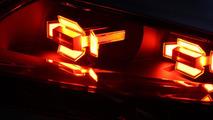 Audi OLED design model 3D taillights at CES 09.1.2013