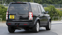2014 Land Rover Discovery facelift spy photo 17.07.2013